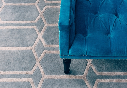 """The Sophia Rug"" from $3,500 – Pure New Zealand Wool – Hand Tufted – Informal Living Room"