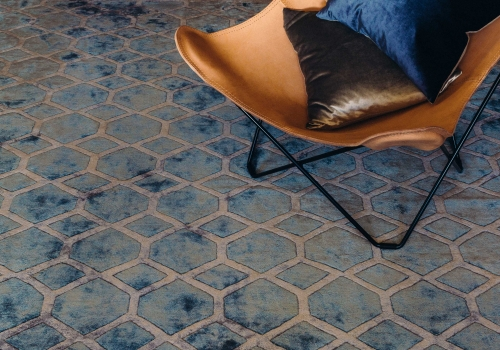 """""""The Indie Rug"""" from $3,500 – Pure Silk – Hand Tufted – Formal Living Area"""