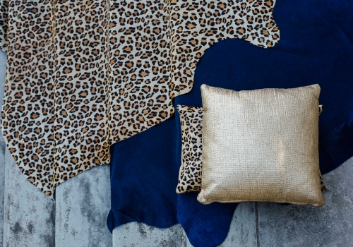"""Luxe Leopard"" and ""Luxe Navy"" from $550"